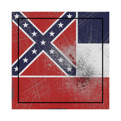 Old Mississippi State flag