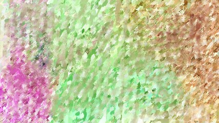 abstract multi colored brush painted closeup background