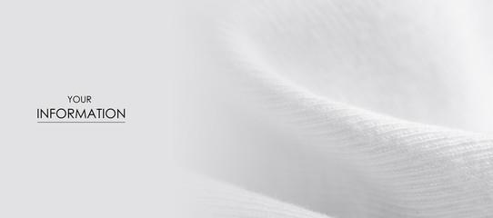 Obraz White warm fabric texture material sweater pattern blur background - fototapety do salonu