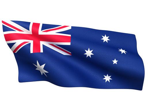 オーストラリア 国旗 比率1:2