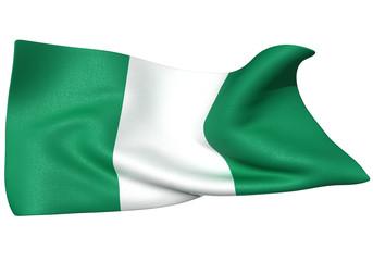 ナイジェリア 国旗 比率1:2