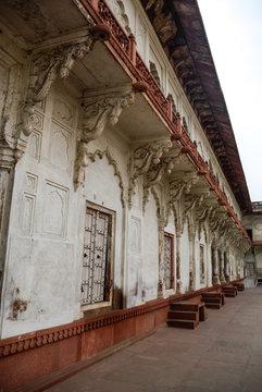 Jahangiri Mahal, a palace at Agra Fort. UNESCO world heritage site in Uttar Pradesh, India