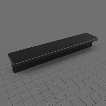 Flat handle 2