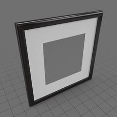 Blank art frame