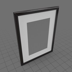 Rectangular art frame