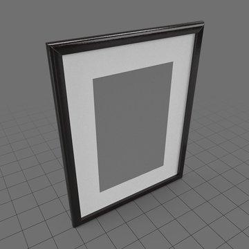 Rectangular art frame