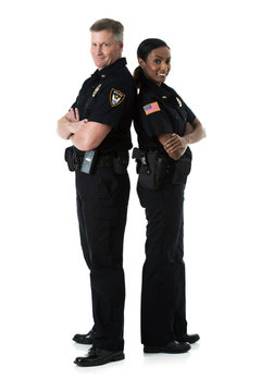 Police: Two Officers Stand Back To Back