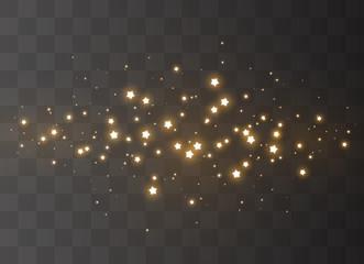 Sparkling magical dust Fototapete