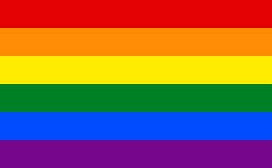 LGBT flag background