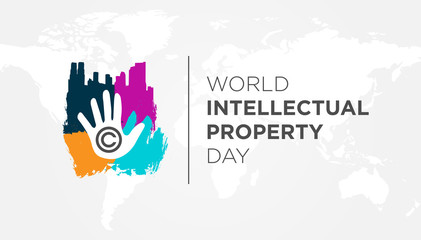Creative World Intellectual Property Day Background