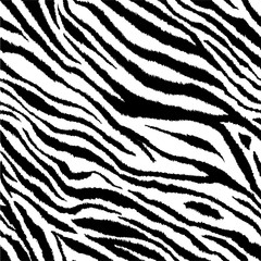 Zebra stripes tiling print background