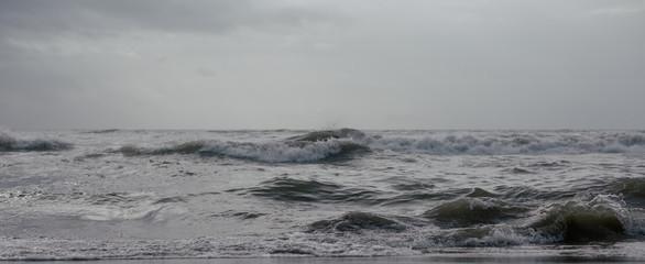 Sea in winter.