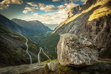 Wall Mural - Famous Trollstigen Road