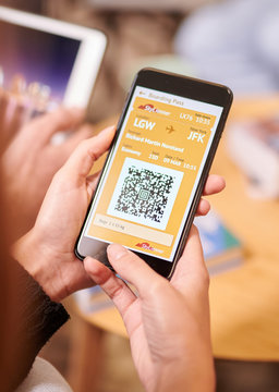 Mobile application for checkin with QR-code.