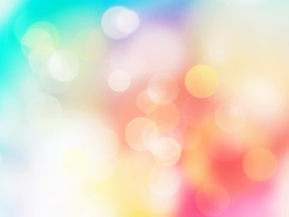 Wall Mural - Abstract bokeh background