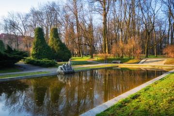Białystok - Park Planty. Wiosna na Podlasiu