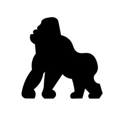 Gorilla Icon Vector