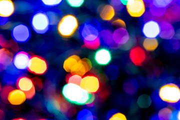 Blurred lights backdrop