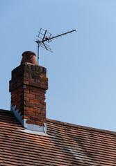 Aerial and chimney