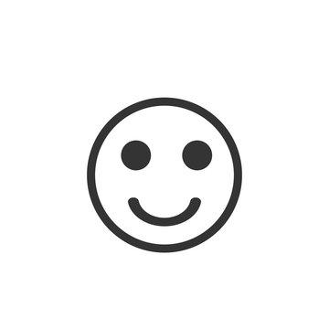 Smiley face vector icon