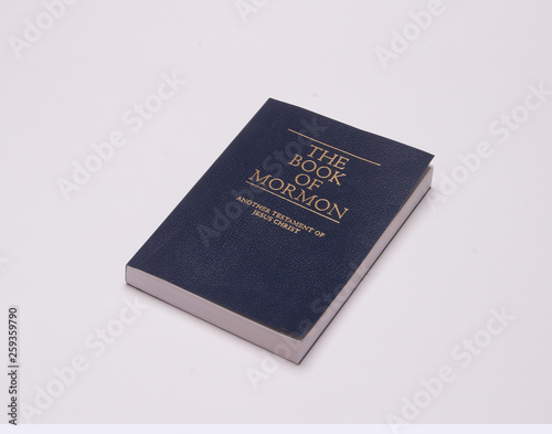 Book of mormon used and read for spiritual inspiration and