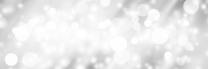 white blur abstract background. bokeh christmas blurred beautiful shiny Christmas lights Wall mural