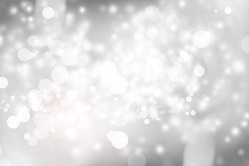 Photo sur Toile Arbre white blur abstract background. bokeh christmas blurred beautiful shiny Christmas lights