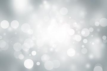 white blur abstract background. bokeh christmas blurred beautiful shiny Christmas lights Wall mural