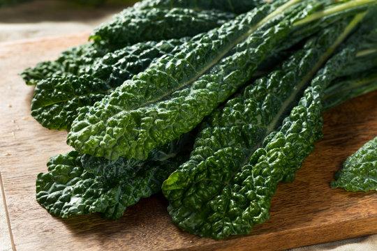 Healthy Organic Green Lacinato Kale