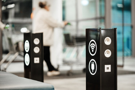 mobile charging zone and free wi-fi access