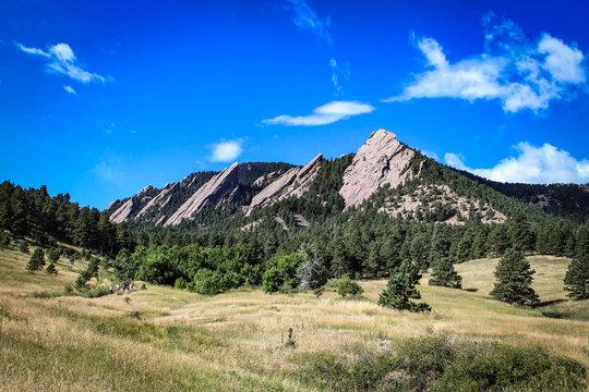The Flatirons - Boulder's most iconic landmark (Colorado)