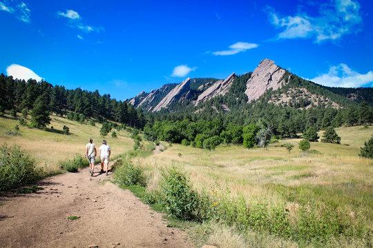The Flatirons - Boulder's most iconic landmark (Colorado) -