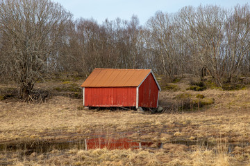 Old shed on the farm