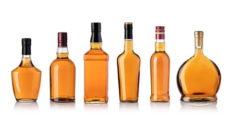 Foto auf Leinwand Alkohol whiskey bottle