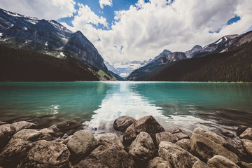 Lovely Lake Louise in the Canadian Rockies