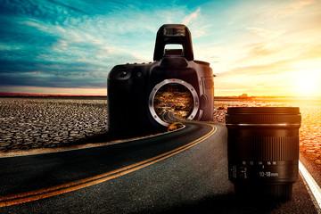 Estrada e Fotografia