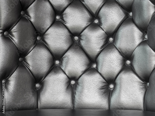 Luxurious Brown Leather Sofa Texture Background