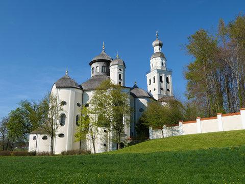 Bayern - Wallfahrtskirche in Sielenbach