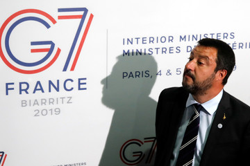 Interior ministers of G7 nations gather in Paris