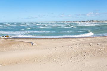 North Sea coast in Klitmoller, Jutland, Denmark