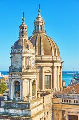 Wall Mural - Saint Agatha Cathedral in Catania