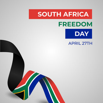 Happy Republic of South Africa Freedom Day Vector Template Design Illustration