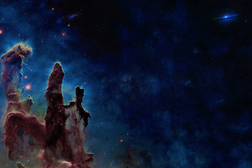 Wall Murals Nasa Somewhere in space near Pillars of creation. Milky fay. Far galaxies. Science fiction. Elements of this image were furnished by NASA.