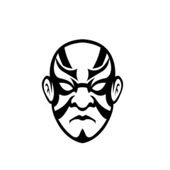 Japanese mask Vector
