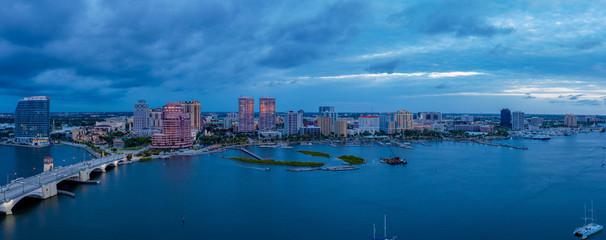 Photo sur Toile London West Palm Beach Pano