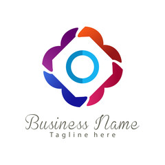 Wedding photography logo and icon design