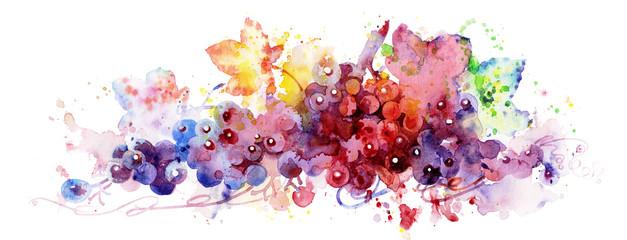 red grape Wall mural