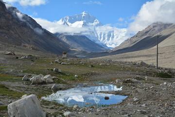 Mount Everest Tibet side