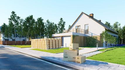 Hausratversicherung bei Umzug ins Eigenheim