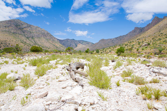 Guadalupe Mountains National Park in Texas, USA
